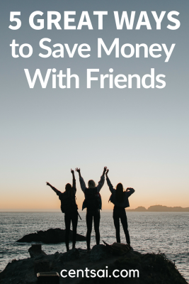 5 Great Ways to Save Money With Friends. You can spend a good time with your friends without spending too much! Check out these ways to save money with friends #savinghacks #lifestyleblog #savingmoneytips #savingmoneyideas