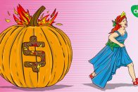 What is a TEACH grant? Cinderella running away from a loan pumpkin | art by Jonan Everett