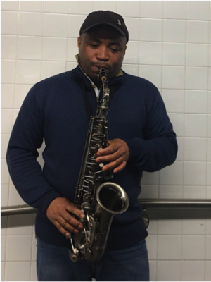 NYC subway performers: Clinton Parsons, Photo by Emma Finnerty