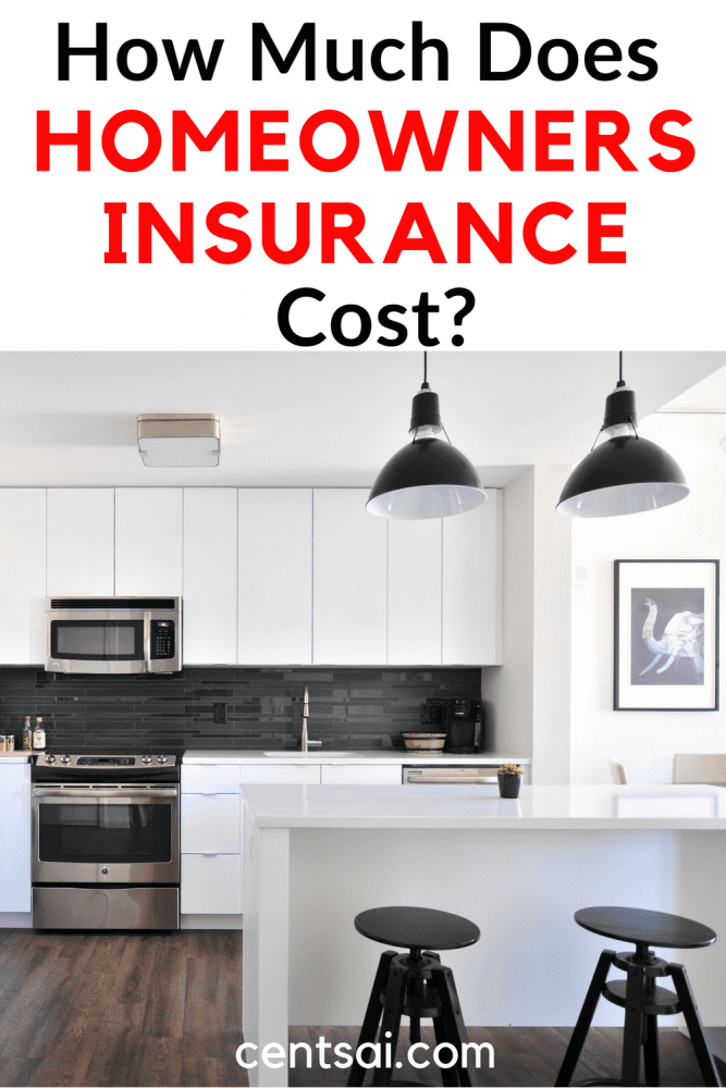 How Much Does Homeowners Insurance Cost? How much does homeowners insurance cost? It varies not just from state to state, but from house to house. Learn how to figure out and plan for the cost. #homeownersinsurance #homeownersinsurancecost #homeownersinsurancetips