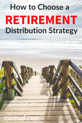 How to Choose a Retirement Distribution Strategy. Will you have enough funds to last your full retirement? Learn how to choose and plan for a retirement distribution strategy so you don't end up broke. #retirement #retirementplan