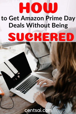 How to Get Amazon Prime Day Deals Without Being Suckered. Massive sales are always tempting. But do you really need another shirt? Learn how to take advantage Amazon Prime Day deals without being suckered. #frugality #lifestyle
