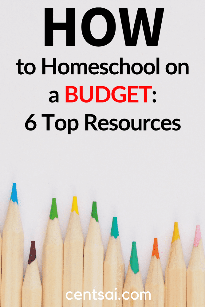 How to Homeschool on a Budget: 6 Top Resources. Here are some of the resources that have saved me money on must-have curriculum products over the years. #homeschool #budget #educationblog #savingmoneytips #savingmoney