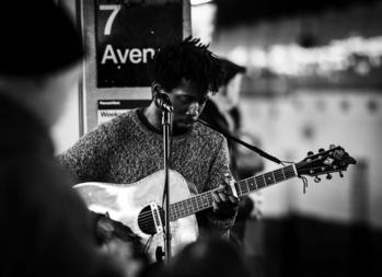 NYC subway performers: Gabriel Mayers