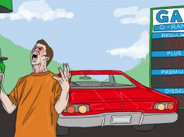 Why are gas prices going up? | Art by Jonan Everett