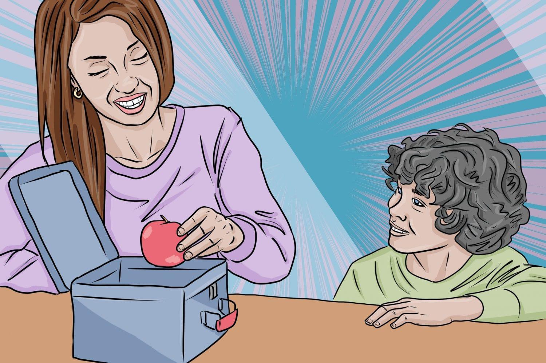 fun, cheap lunch ideas for kids and adults | art by Jonan Everett