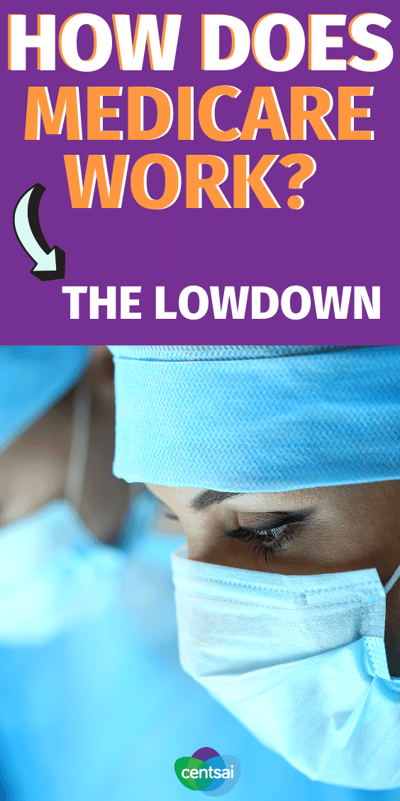 How Does Medicare Work? The Lowdown. If you feel completely lost, you're not alone. Get the lowdown and make sure you sign up for the right Medicare plan. #medicareplan #financialplanning #medicare #healthcare #CentSai