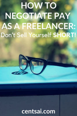 How to Negotiate Pay as a Freelancer: Don't Sell Yourself Short! Are you charging enough for your freelance services? You may not be. Learn how to negotiate pay when you're self-employed. #freeelancer #freelancejobs #howtonegotiate