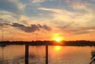 Is Hope a Prerequisite for Financial Success? | Cape May sunset by Rita Pouppirt