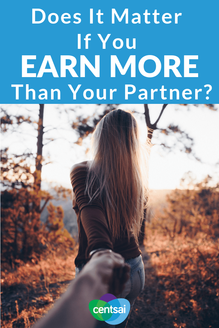 Does It Matter If You Earn More Money Than Your Partner? I'm Earning More Money Than Him... So What? Men are often expected to earn more than their partners, but is it so bad for a woman to be earning more money in the relationship? #earningmoremoney #earningmoreincome