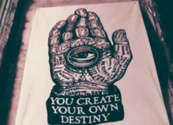 What are money scripts? | You create your own destiny hand | Photo by Daye Deura