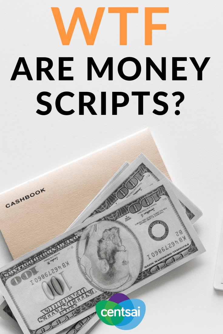 WTF Are Money Scripts? Do our money scripts hold us back? Learn what they are, how they work, and how you can write a positive one for yourself. #financialwellness #moneymindset