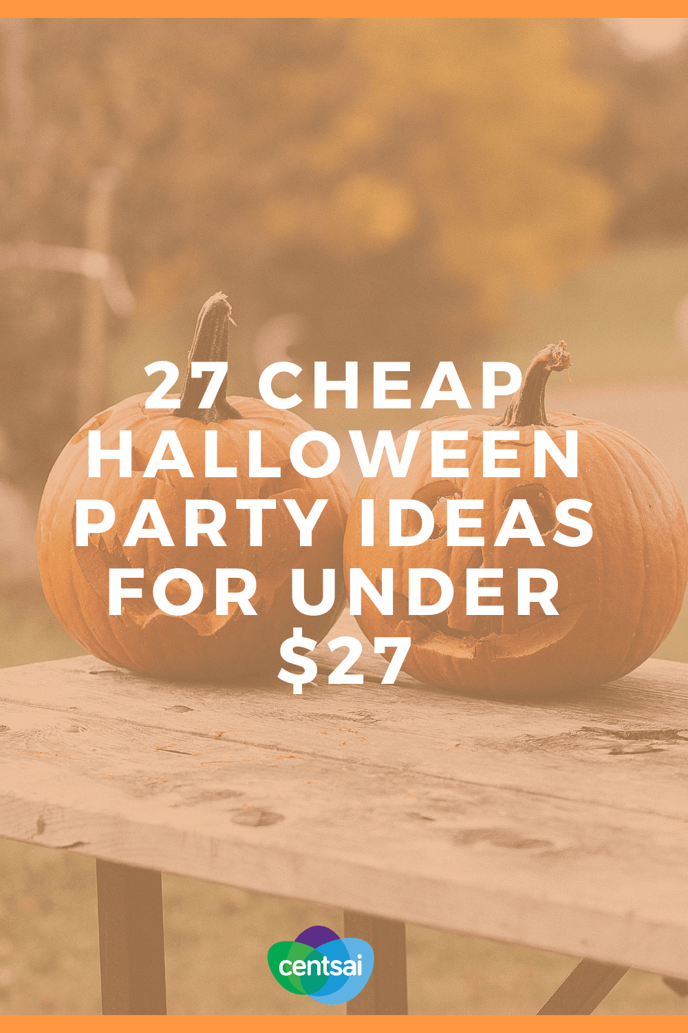 27 Cheap Halloween Party Ideas for Under $27. Halloween fun doesn't have to be frighteningly expensive. Check out these chillingly cheap party ideas! #Halloween #frugaltips