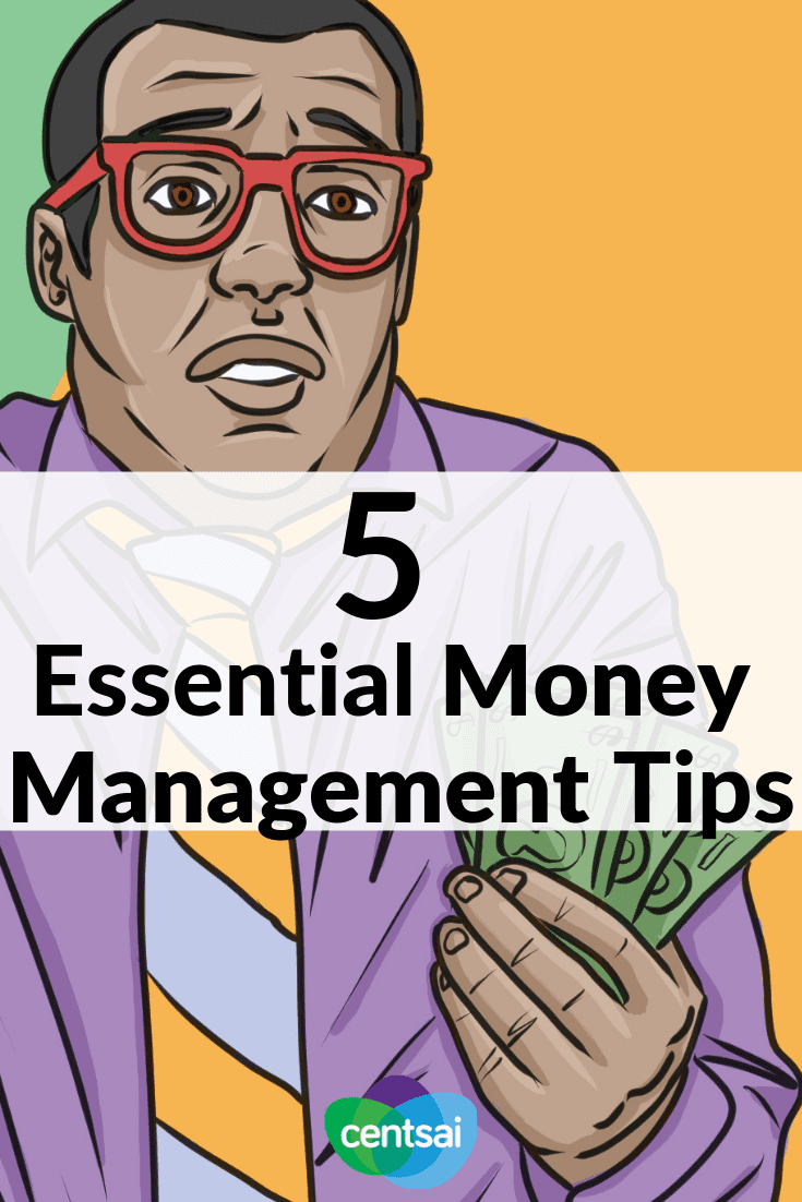 5 Essential Money Managment Tips. Personal finance is often not taught in schools - here's the quick introduction to the basics you will need to address. #personalfinance #moneymanagement
