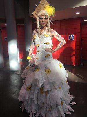 @TheOnlyTrashQueen (aka Avant Garbage) at RuPaul's DragCon NYC