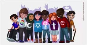 Weird scholarships: Google Doodle 2017 winner: Sarah Harrison, 15 years old.