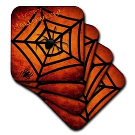 27 Cheap Halloween Party Ideas for Under $27: Halloween coasters