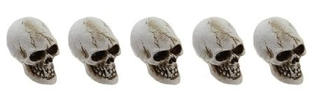 27 Cheap Halloween Party Ideas for Under $27: Halloween skulls