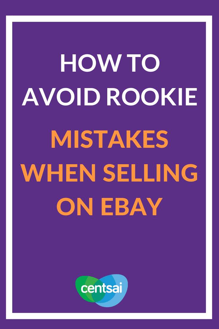 How to Avoid Rookie Mistakes When Selling on eBay. Got tons of things you don't want? Learn how to sell on eBay and make some extra dough. Just be careful of certain rookie pitfalls. #eBay #sidehustle #technologyblog