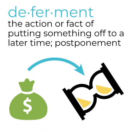 Student loan deferment definition