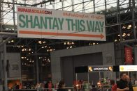 "RuPaul's DragCon NYC | ""Shantay This Way"" sign"