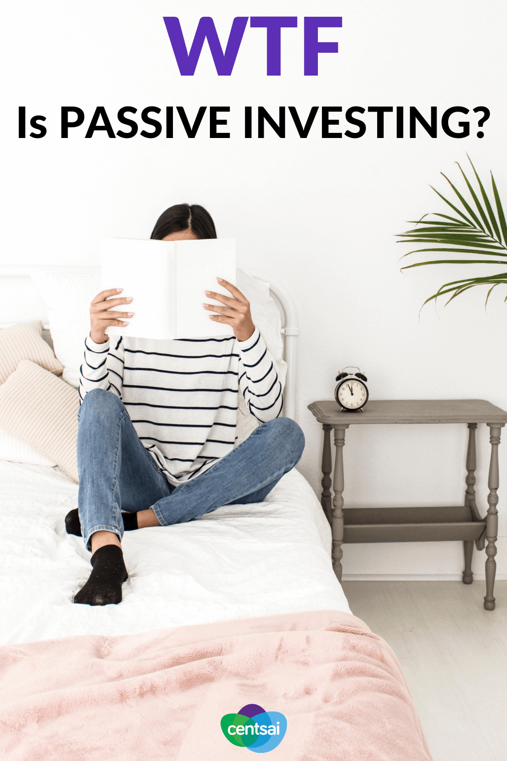 WTF Is Passive Investing? Ever wanted to make money on the stock market, but feel like you don't have enough time to do it? Then check out how passive investing works. #Passiveinvesting #Investing #investment #makemoney #stockmarket