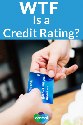 WTF Is a Credit Rating? You've heard of a credit score, but what is a credit rating? Yep, they're different. Learn how credit ratings work and why they're important. #creditcard #creditscore #personalfinance