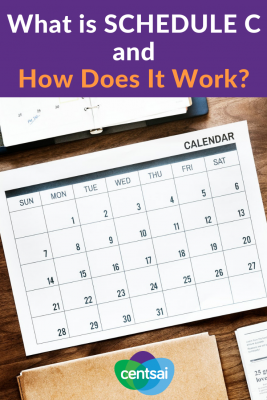Taxes for the Self-Employed: What Is Schedule C and How Does It Work? Are you self-employed? Is tax time a yearly headache? Check out this guide to Schedule C to learn what it is and how to fill it out. #selfemployed #taxes
