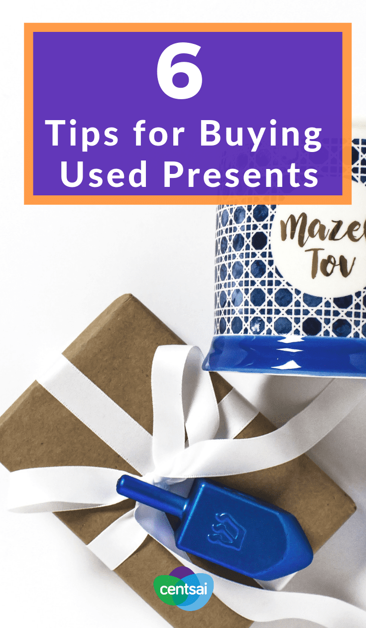 6 Tips for Buying Used Presents. Short on cash? We've got some cheap gift ideas for you: Buy used presents. If you're smart about it, your family will never even guess. #holiday #giftbuying #savingtips