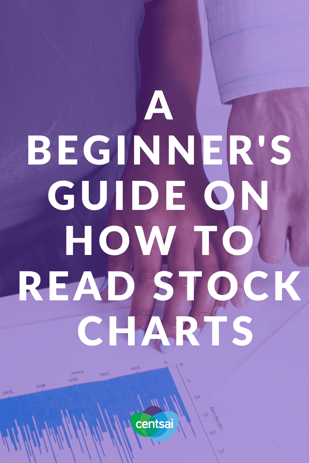 A Beginner's Guide on How to Read Stock Charts. Do you want to start investing, but feel lost on how to read stock charts? We've got you covered. Check out this comprehensive guide. #investing #stockchart