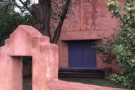 7 Cheap Things to Do in San Antonio   Photo of a small, simple adobe church   Photo by Rita Pouppirt