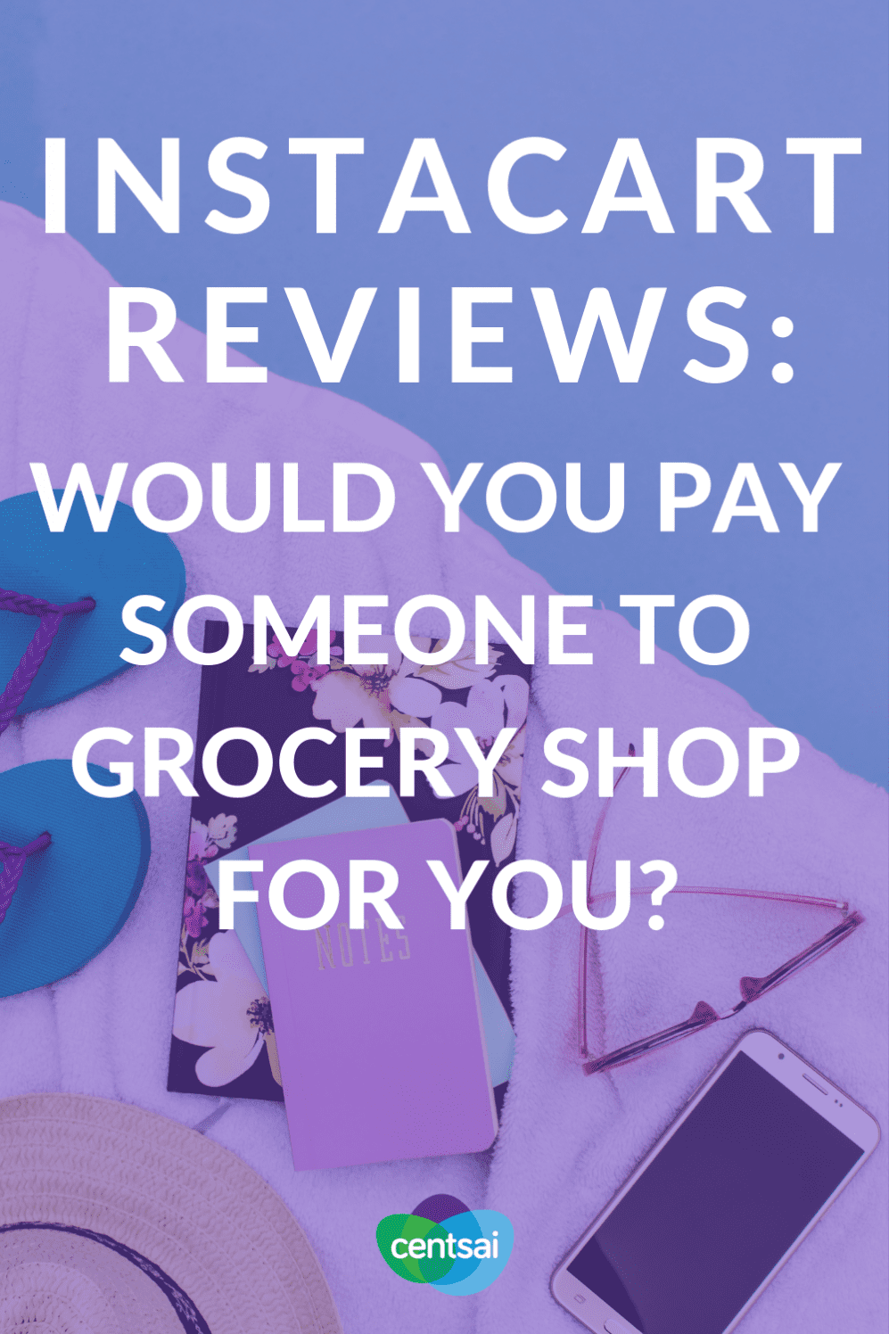Instacart Reviews: Would You Pay Someone to Grocery Shop for You? Who likes grocery shopping, right? Some apps help you hire somebody else to do it. Read our Instacart reviews to see if it's worth your money. #instacart #groceryshop #review