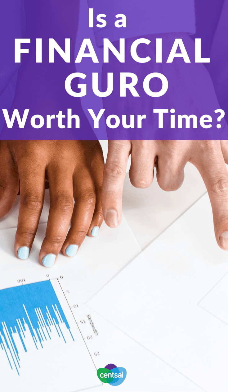 Is a Financial Guru Worth Your Time? Feel clueless about money? A financial guru like Suze Orman or Dave Ramsey might be able to help. But just how much should you rely on them? #personalfinance #moneytips #financialguru