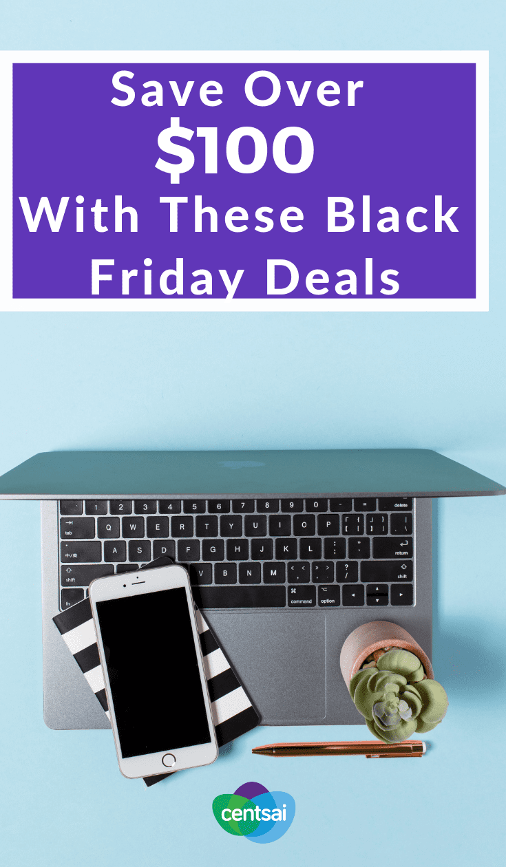 Save Over $100 With These Black Friday Deals. Want to get the perfect holiday gift for half the price? Check out these top Black Friday deals and get a jump on the gift-giving game. #frugality #frugaltips #frugalitytips #lifestyle #holidaygifts #savingtips