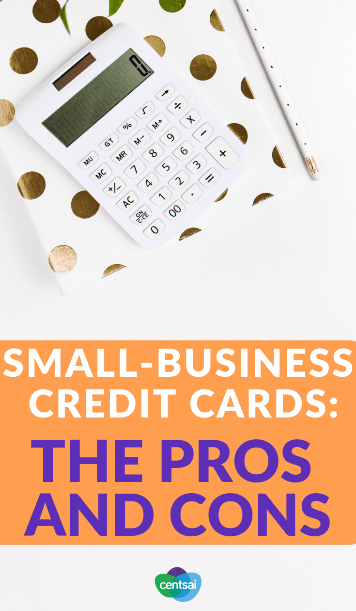 Small-Business Credit Cards: The Pros and Cons. If you're an entrepreneur, are small-business credit cards worth it? Check out this blog post to learn the pros and cons — and find the best choices — before deciding! #creditcards #entrepreneurshipblog #personalfinance