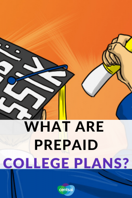 What Are Prepaid College Plans? Do you want to save money to help your kid go to college? Prepaid college plans can help. Learn what they are and how they work. #financialplanning #college #savemoney #savingmoneytips #collegeplan #prepaidcollege