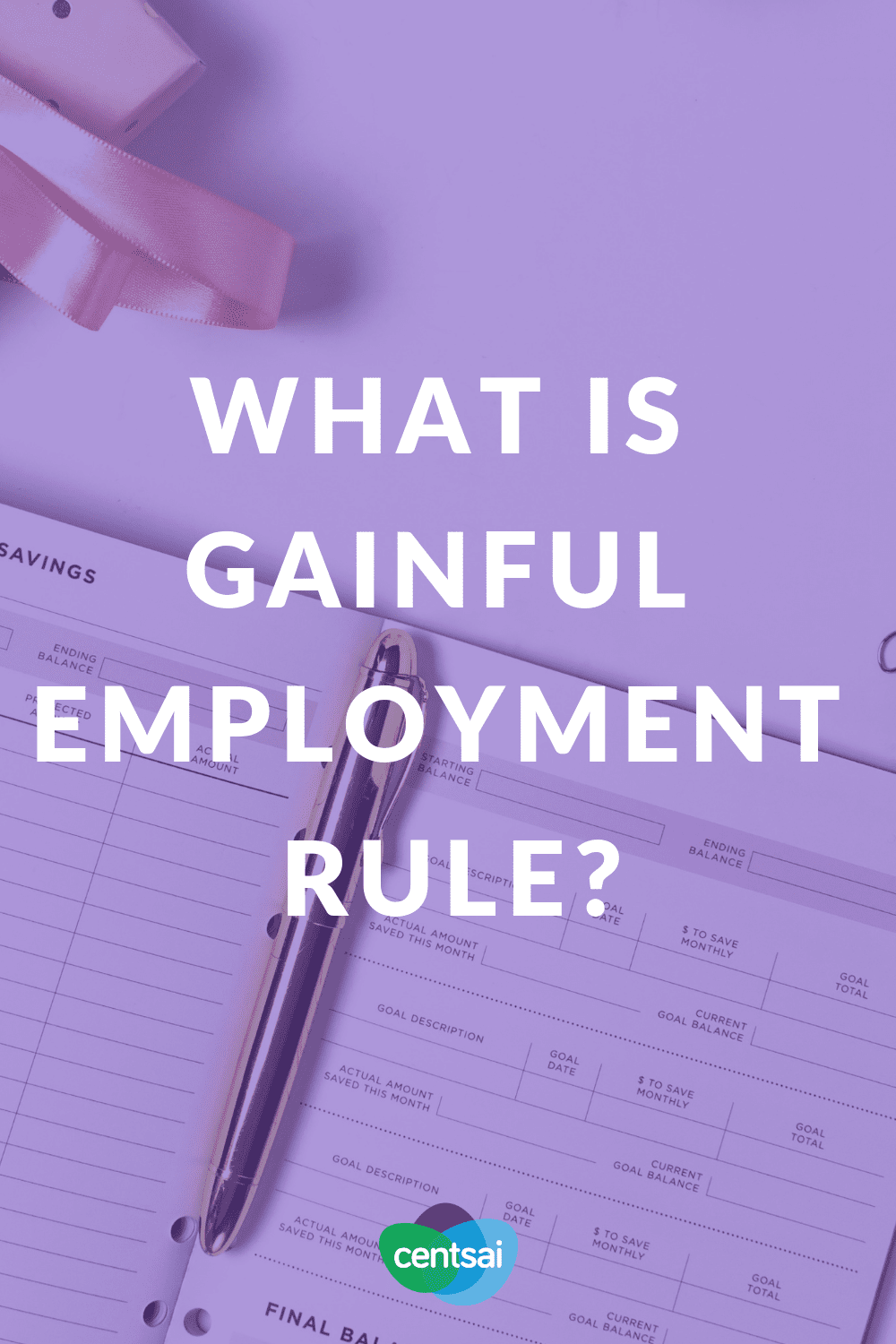 What is Gainful Employment Rule? The Obama-era gainful employment rule might not have long to live. Is that a blow to debt-laden students, or good riddance to a useless rule? #employment #debt #studentdebt #studentloan