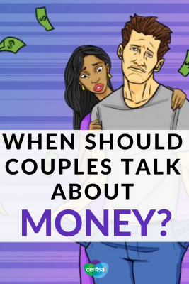 When Should Couples Talk About Money? Many people would rather talk about their sex lives than discuss their income, debt, or savings rate, but the money talk is important. #Dating #income #Marriage relationship  #finances #personalfinance #money #frugaltips