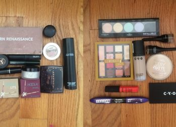 Cheap vs. expensive makeup products