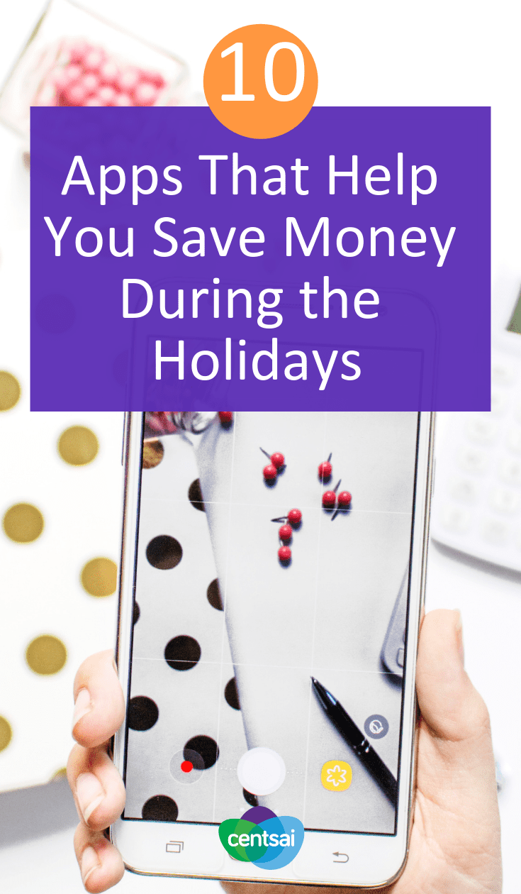 10 Apps That Help You Save Money During the Holidays. Does your spending spiral out of control every holiday season? Now's the time to take charge. Check out these apps that help you save money. #budget #moneyimindset #holiday #budgetingtips #savingtips