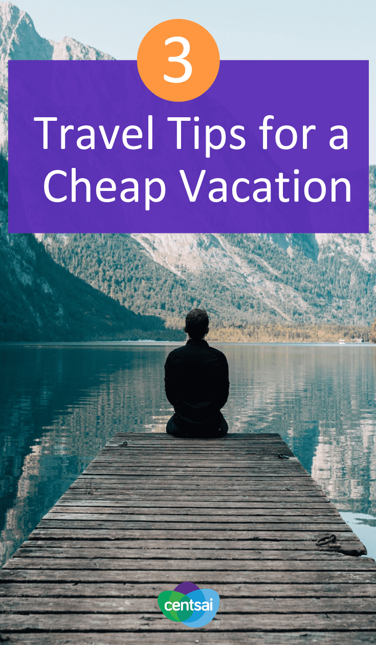 3 Travel Tips for a Cheap Vacation. Low on funds? That shouldn't stop you from having an awesome vacation. Check out these budget travel tips, and you're sure to have a blast. #travel #cheapvacation #budgetraveltips