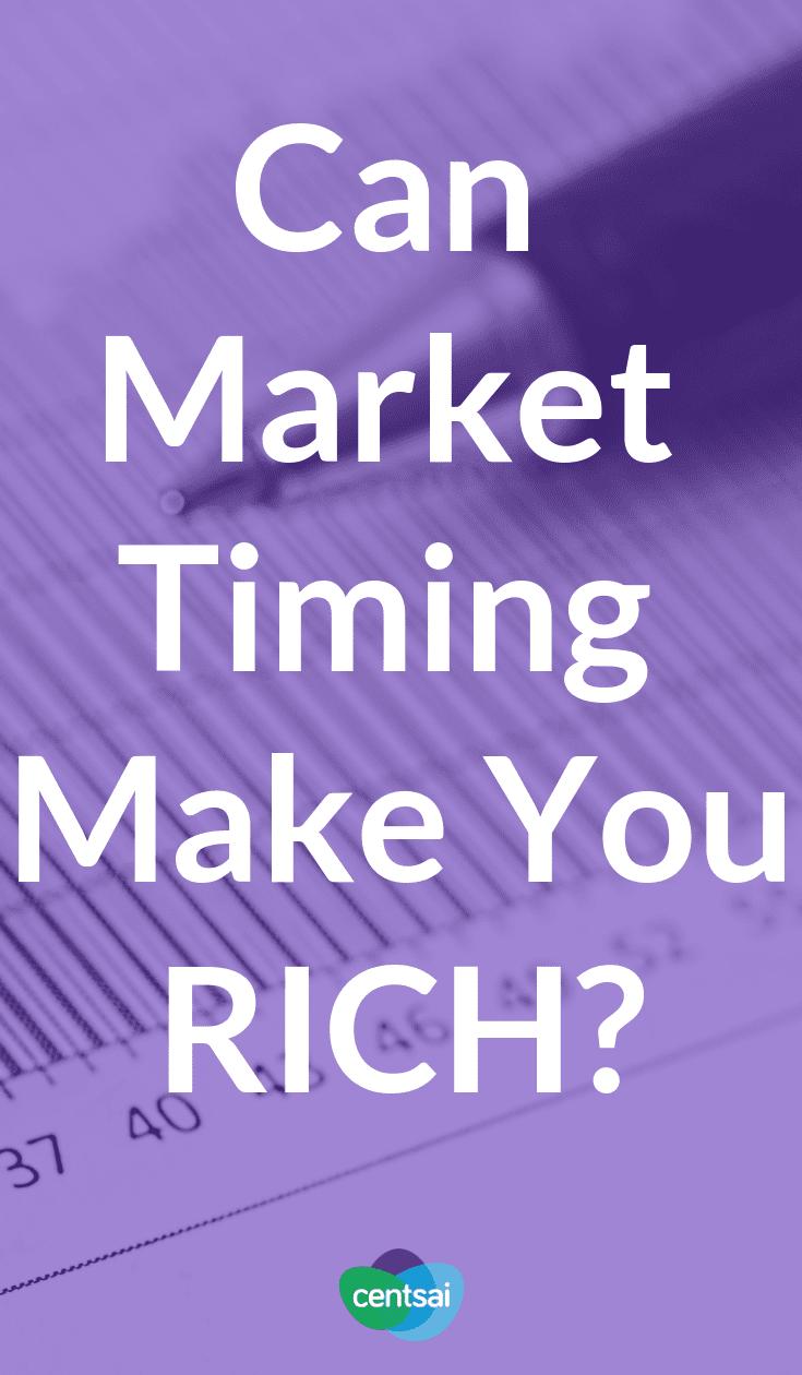 ¿Puede la sincronización del mercado hacerte rico? Las caídas del mercado de valores pueden dar miedo. Pero, ¿es realmente el market timing una forma eficaz de evitarlos? Aprenda a administrar sus inversiones hoy. # mercado de valores # inversión # mercado de valores - inversión # mercado de valores para principiantes