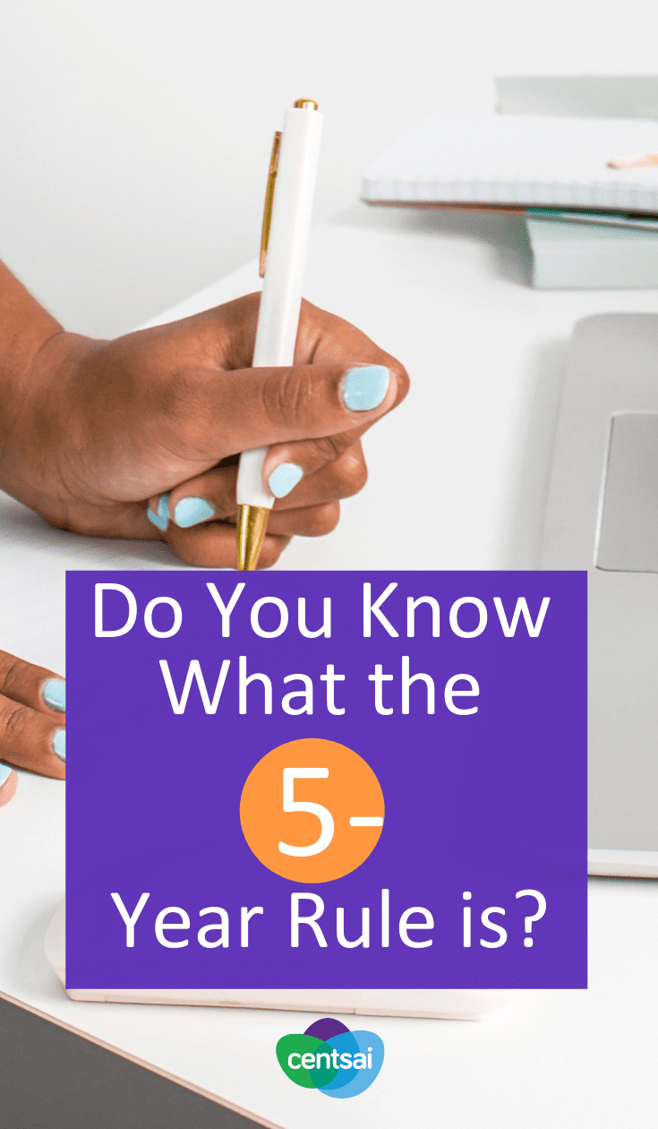 Do You Know What the 5-Year Rule is? Do you freeze when trying to make a financial decision? You're not alone. But this financial decision-making trick can make your life easier. #5yearrule #financialdecision #moneymanagement #moneytips