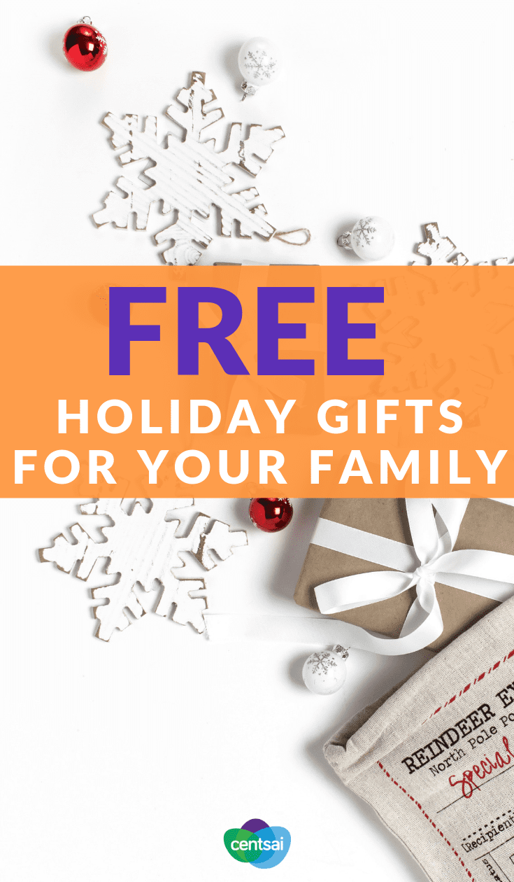 Free Holiday Gifts for Your Family. Want to enjoy the holiday season without going broke? We've got you covered. Check out our top tips on how to save money during the holidays. #budget #debtfree #savinghacks