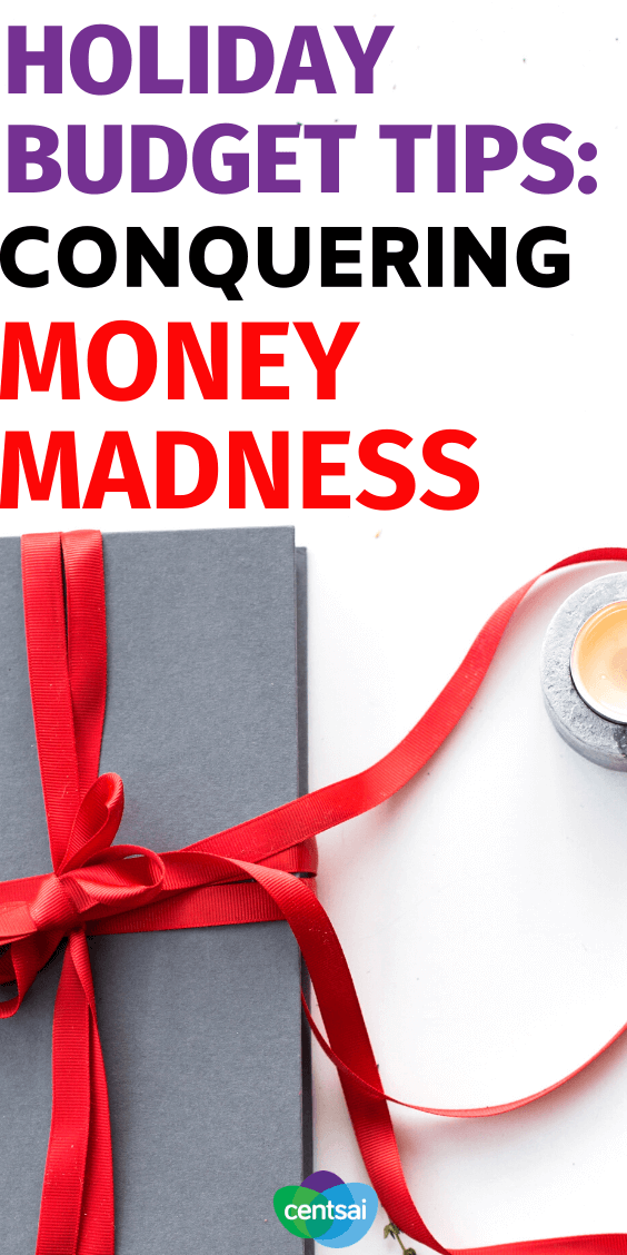 Does your holiday spending often spiral out of control? Check out these holiday budget tips to help keep more money in your wallet. #budget #moneyimindset #holiday #budgetingtips