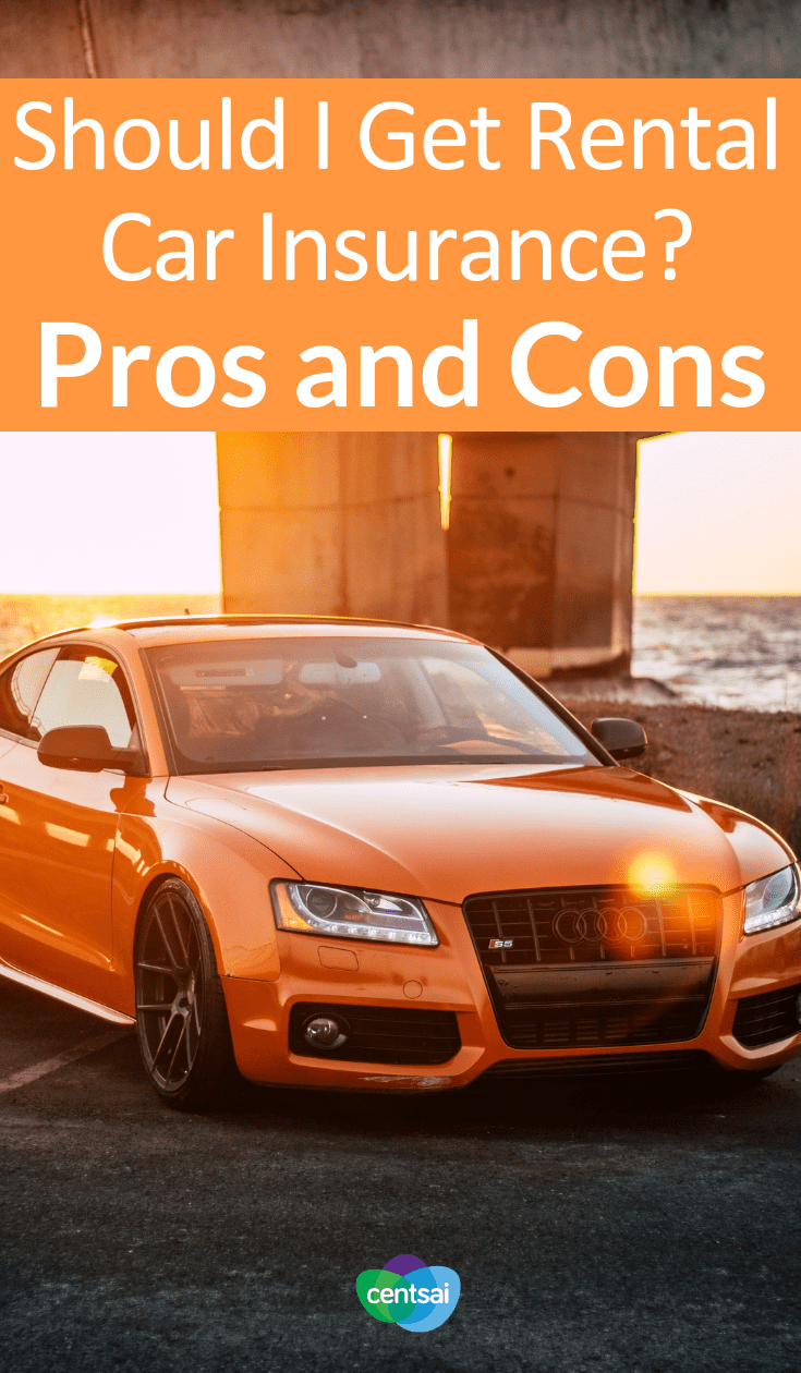 Should I Get Rental Car Insurance? Pros and Cons. If you rent a car, should you get rental car insurance to protect yourself? Check out the pros and cons to decide what's best for you. #insuranceblog #transportation