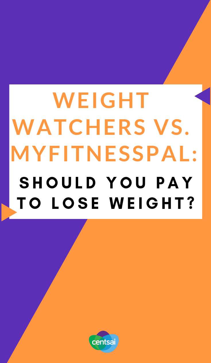 Weight Watchers vs. MyFitnessPal: Should You Pay to Lose Weight? What's the best program to lose weight? And is it worth paying for? Check out our comparison of Weight Watchers vs. MyFitnessPal. #weightwatchers #lostweightmotivation
