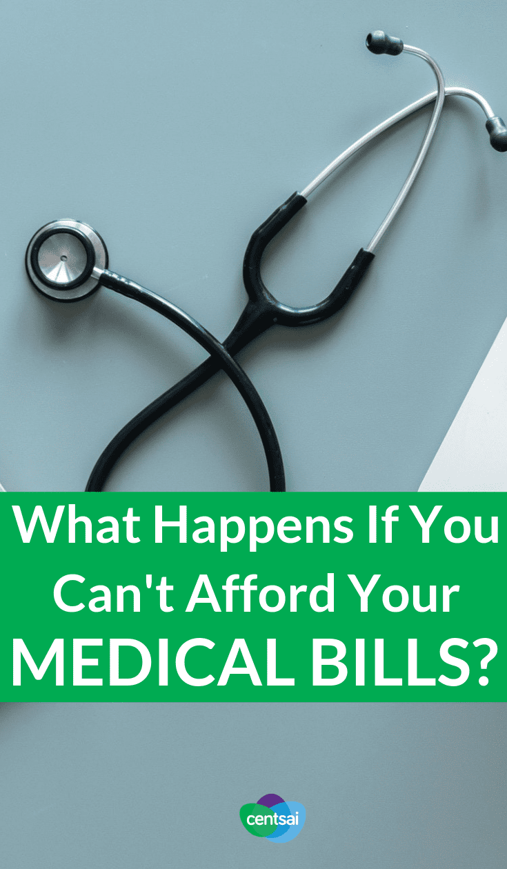 What Happens If You Can't Afford Your Medical Bills? What happens when you can't pay medical bills? Learn how one couple dealt with a $12,000 surgery bill that they couldn't afford. #medicalbills #medicalbillsdebt