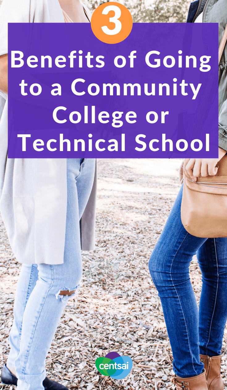 3 Benefits of Going to a Community College or Technical School. Have you thought about what you'll do next after high school? Check out the benefits of going to a community college or technical school. #educationblogs ##education #college