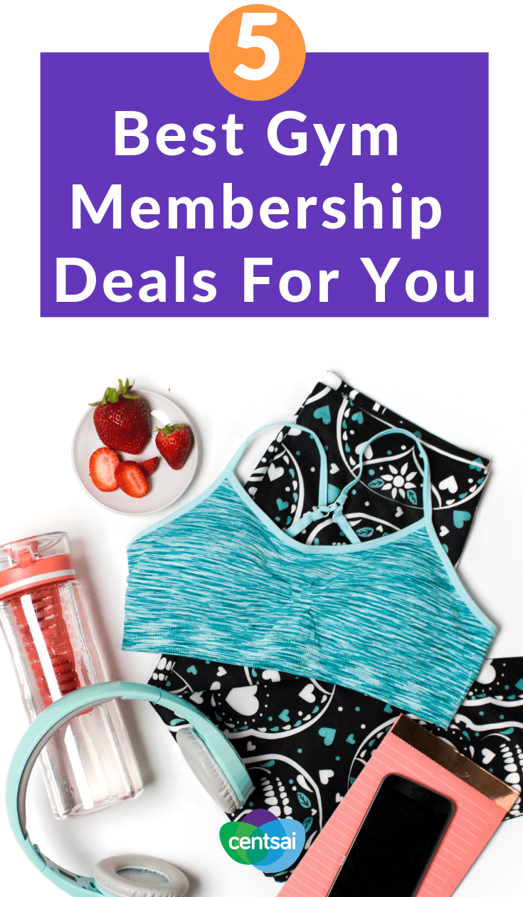 5 Best Gym Membership Deals For You. We all want to get fit, but will you actually do it? Of course you will. And we're here to help with five of the best gym membership deals. #fitness #gymmembership #budget #health